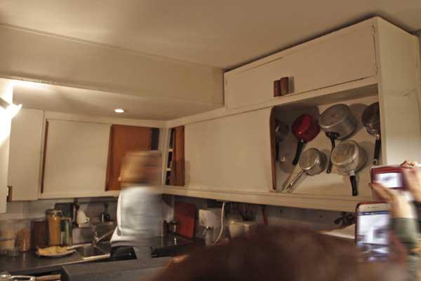 マルセイユのユニテ・ダビタシオン|住戸のキッチン